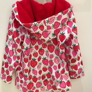 Hatley Jackets & Coats - Hatley Strawberry Raincoat